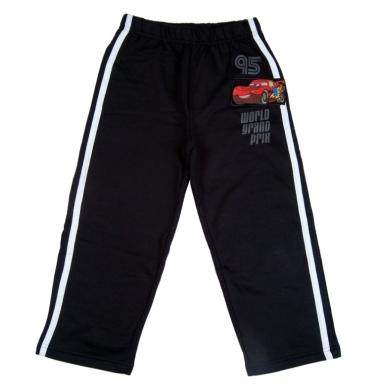 100% х/б Спортивные брюки тачки на мальчика с апликацией