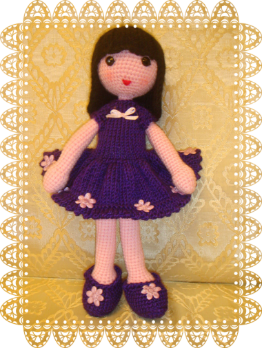 кукла вязаная Кристина