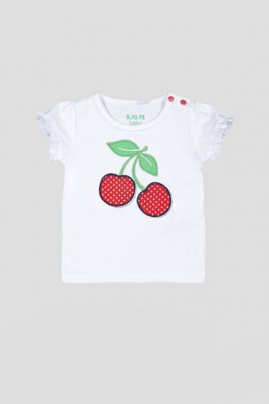 футболка вишенки