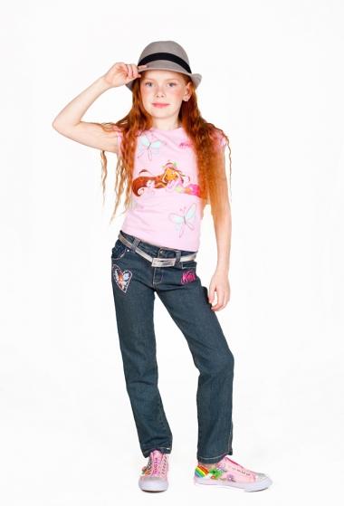 джинсы winx