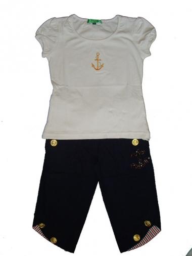 Шорты и футболка комплект для девочки