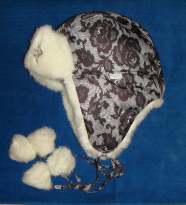 шапка гламур