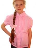 Блузка розовая для девочки
