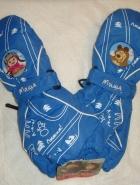 Рукавицы синие