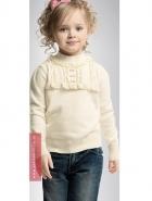 Джемпер белый для девочки