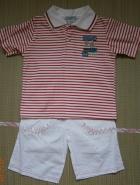 Детский комплект поло и шорты